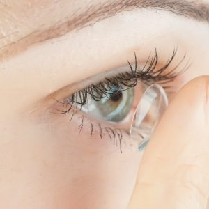High Point Contact Lens